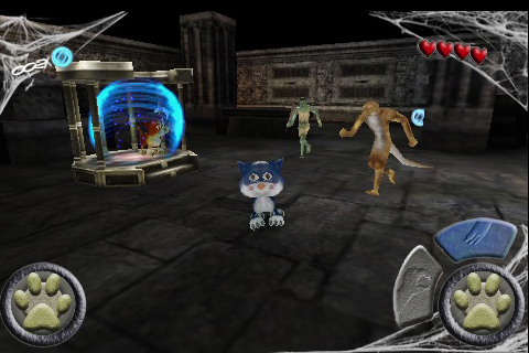 Screenshot Scaredy Cat 3D Deluxe
