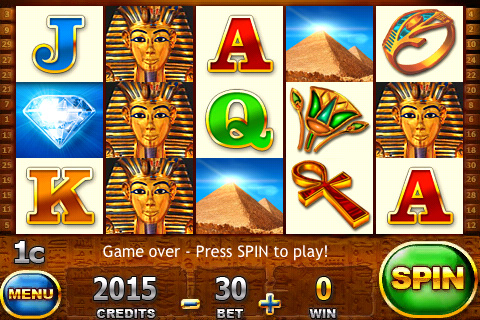 Screenshot Slot Trainer – Pyramids of Giza SALE